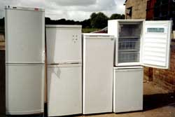 TOC Refrigerator Selection for Re-Use or Recycling